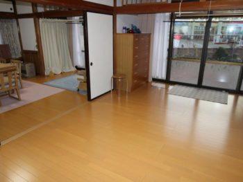 福島市 S様邸 フロアリフォーム事例