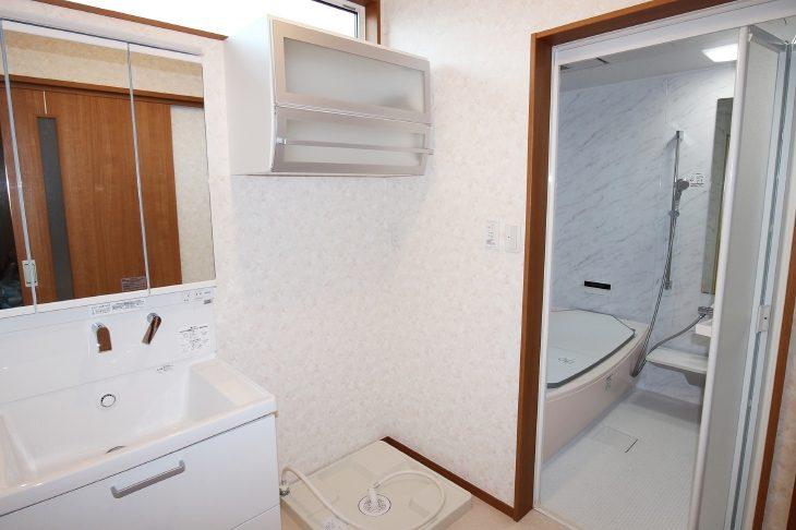 伊達市 O様邸 洗面室リフォーム事例