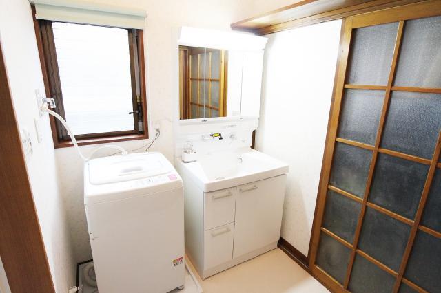 福島市 T様邸 洗面室リフォーム事例