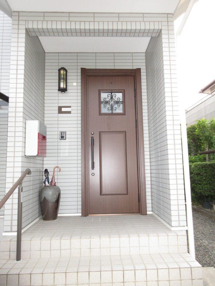 福島市 S様邸 玄関ドアリフォーム事例